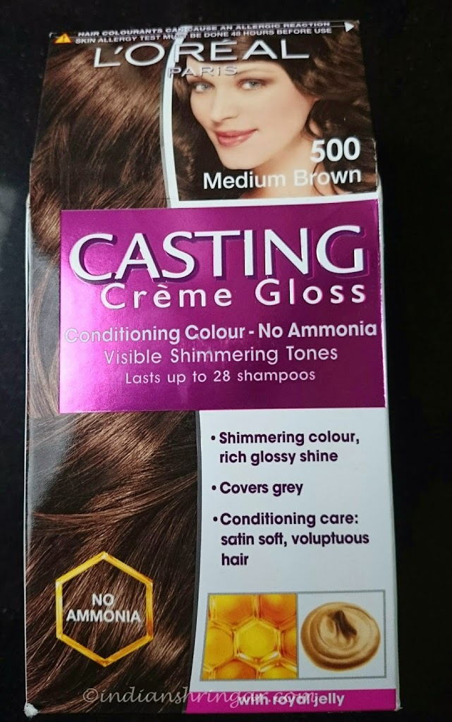 Loreal Casting Creme Gloss Makes Hair Colouring As Easy As 1 2 3