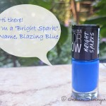 Maybelline Color Show Bright Sparks Blazing Blue