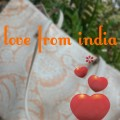 Love From India tote