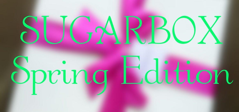Sugarbox Spring Edition contents