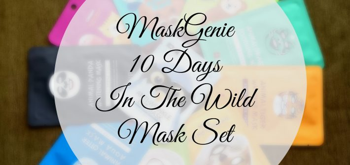 MaskGenie 10 Days In The Wild Unboxing and contents