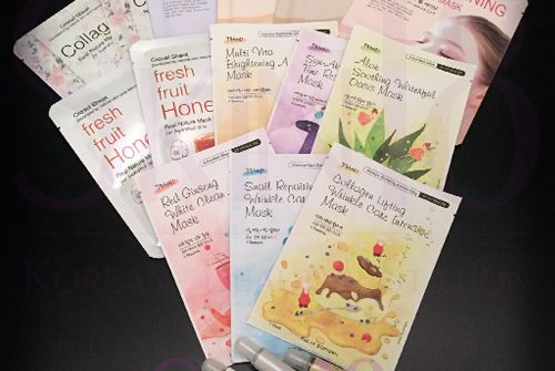 Sheet masks giveaway with Skin18