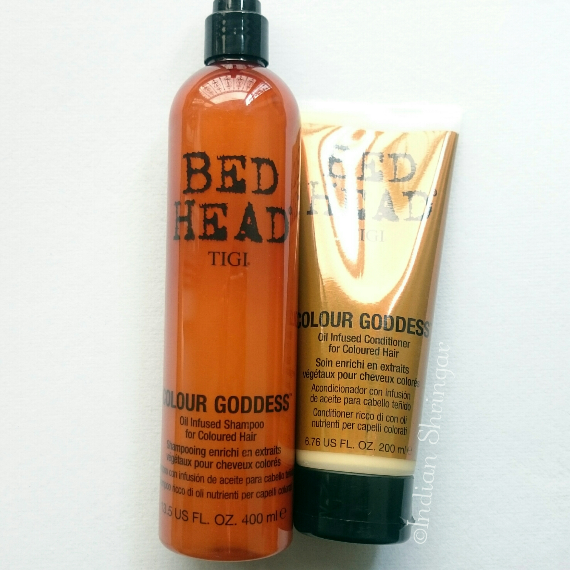 Tigi Bed Head Colour Goddess Shampoo And Conditioner Review The