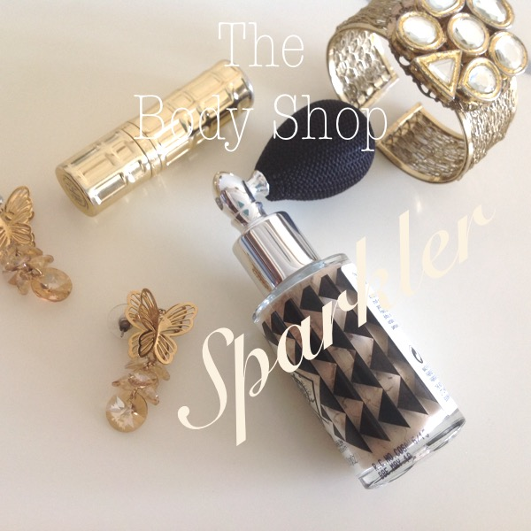The Body Shop Sparkler Golden Glimmer review