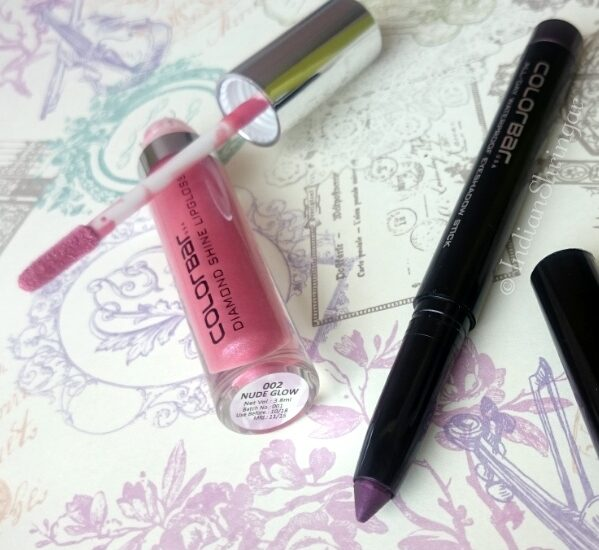 Colorbar Eyeshadow Stick & Diamond Shine Lip Gloss Review