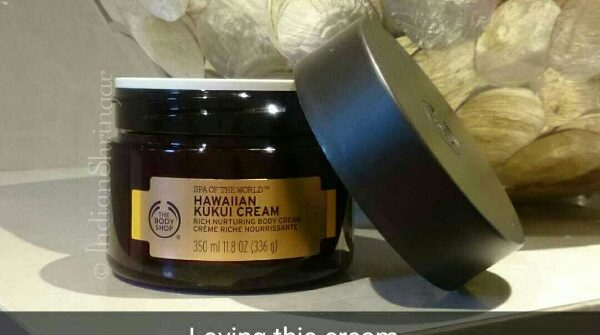 The Body Shop Hawaiin Kukui Cream Review