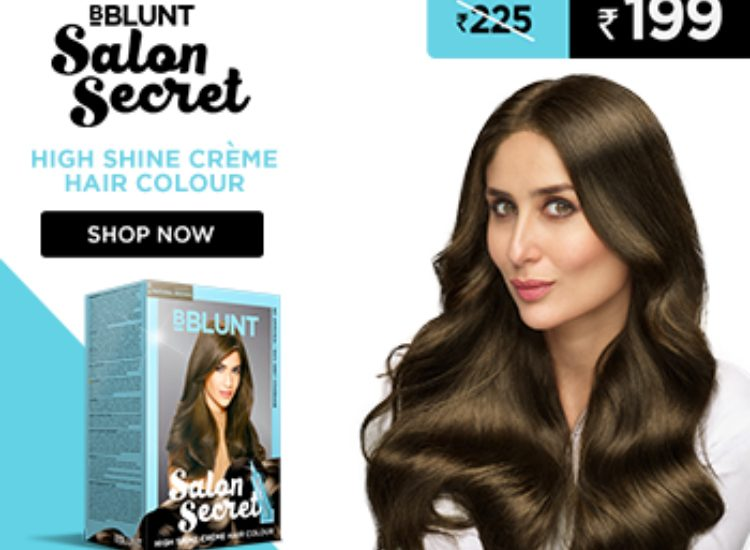 BBlunt Salon Secret hair colour review