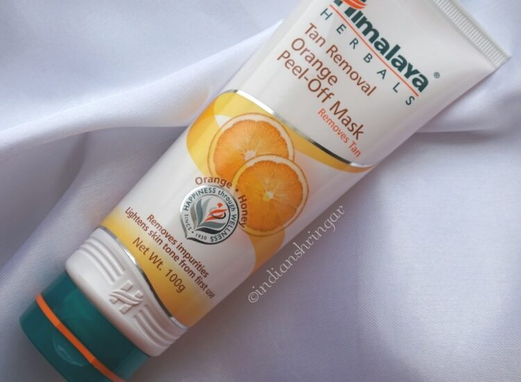 Himalaya Tan Removal Orange Peel-Off mask