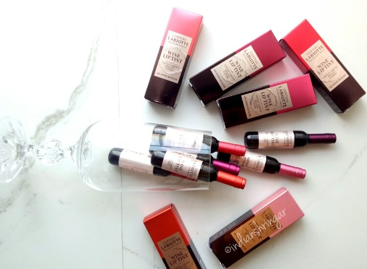 Chateau Labiotte Wine lip tints review