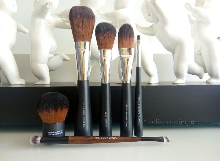 The Body Shop Makeup brushes review