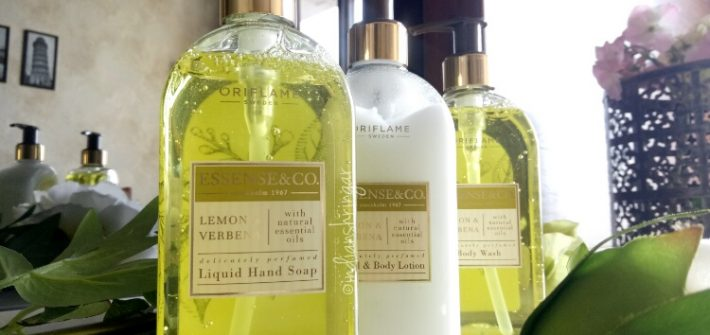 Oriflame Lemon Verbena range review