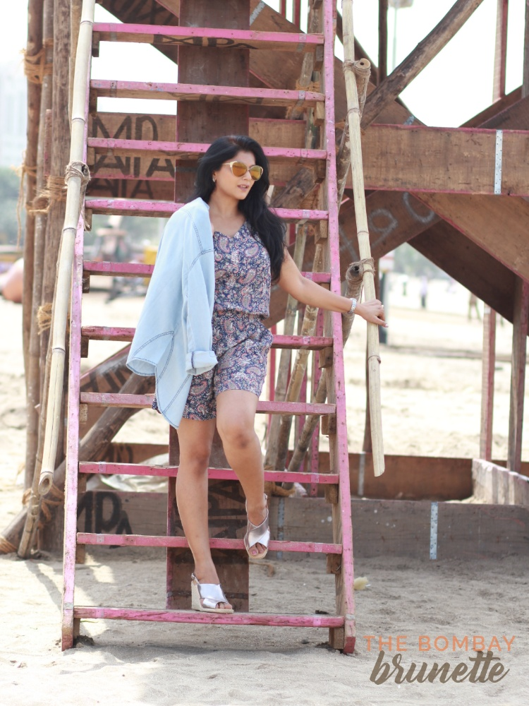 The Bombay Brunette - ways to style denim