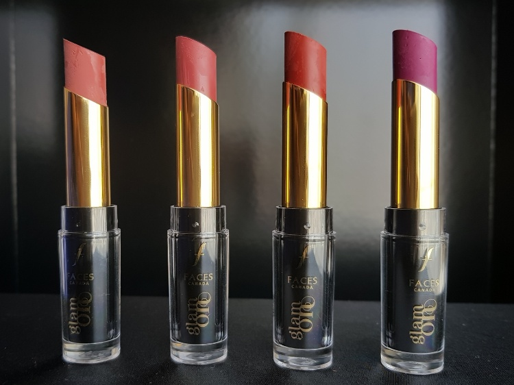 Faces Velvet Matte Lipstick review and swatches