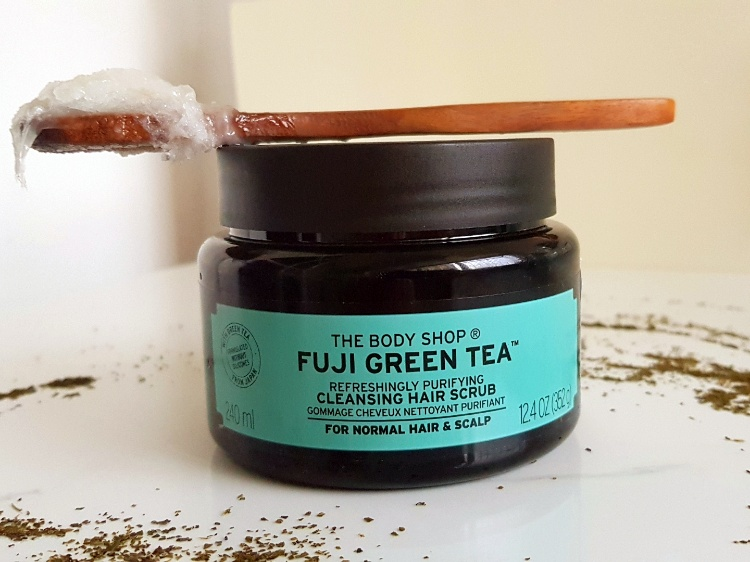 The Body Shop Fuji Green Tea Hair Scrub