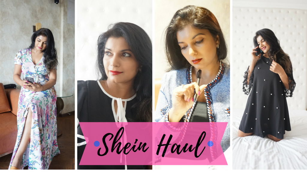Shein shopping experience, haul and lookbook