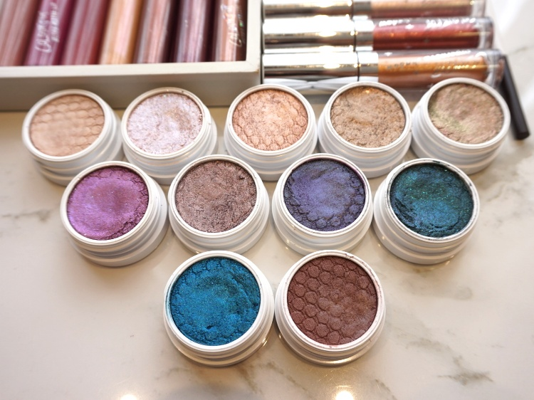 Colourpop Super shock eyeshadow review and swatches