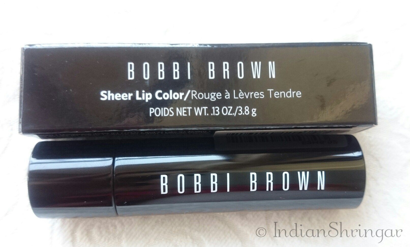 Bobbi Brown Sheer Lip Color Hot Raspberry review, swatch, price in India