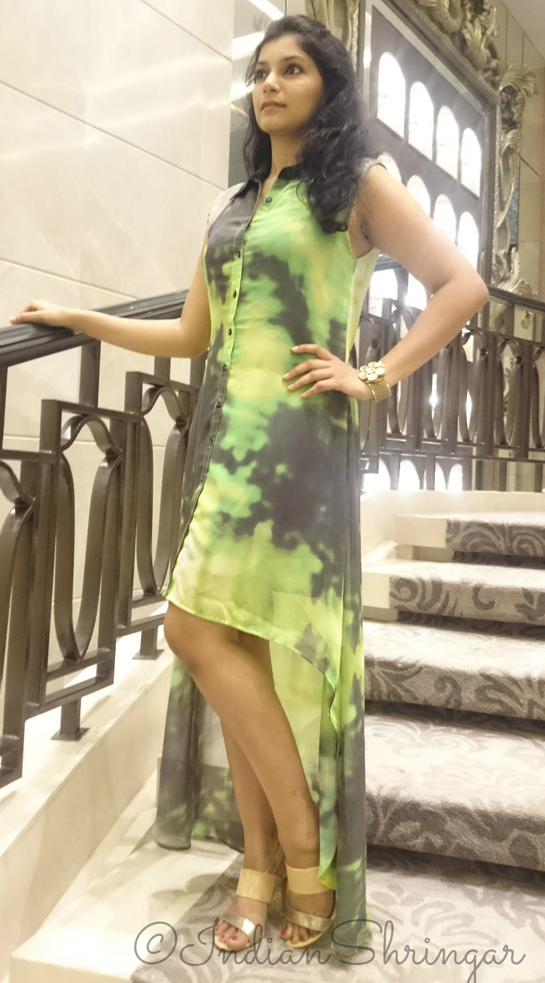 Love From India high-low dress
