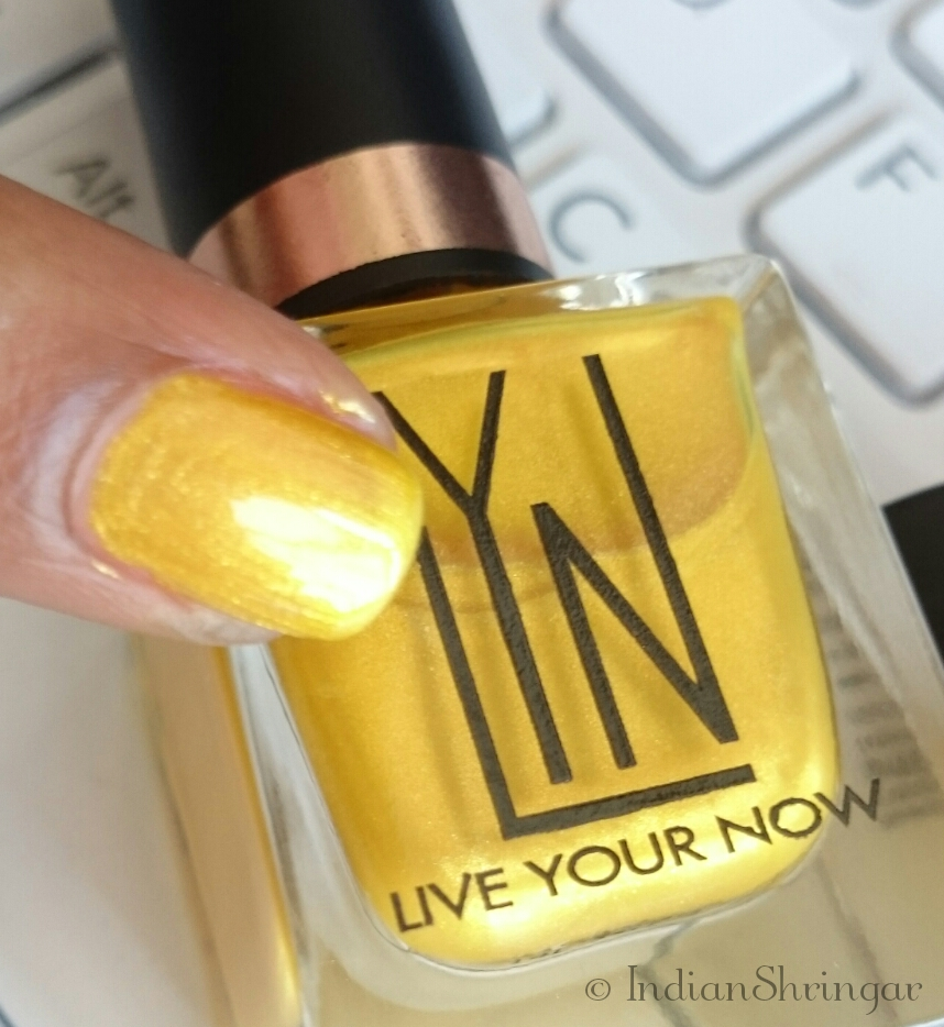 LYN Live Your Now nail polishes, review, swatches and price in India