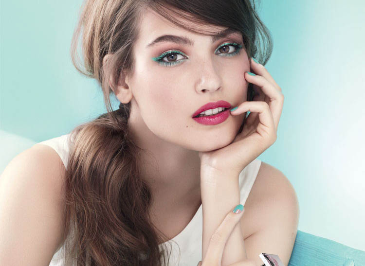 Lancome Inspired spring 2015 makeup