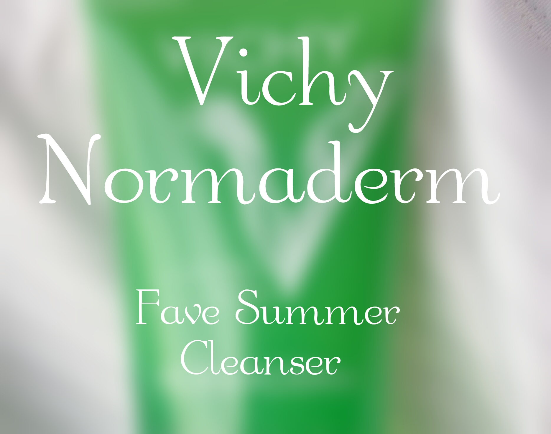 Vichy Normaderm Cleansing Gel review and price in India