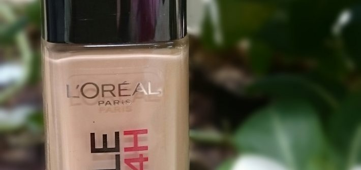 L'Oreal Infallible Stay Fresh Foundation - review, swatch, FOTD