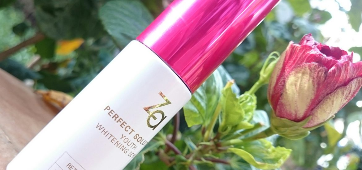 Za Perfect Solution Youth Whitening Serum review