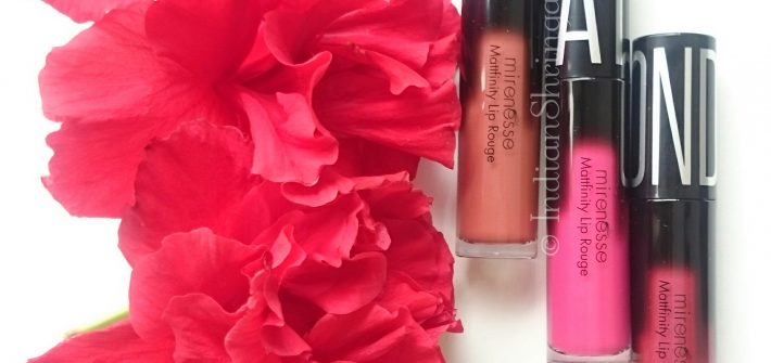 Mirenesse Mattfinity Lip Rouge Review