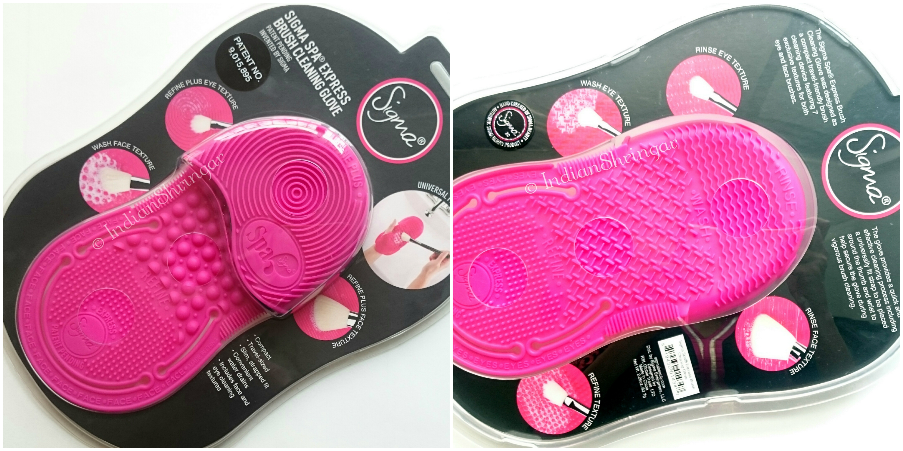 Sigma Spa Express Brush Cleaning Glove Review