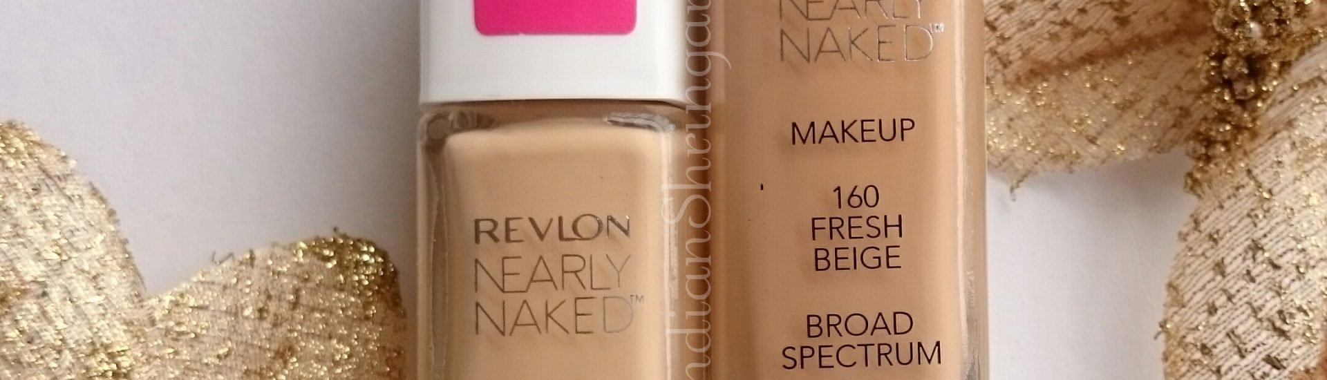 Revlon Nearly Naked Foundation Review and Swatch