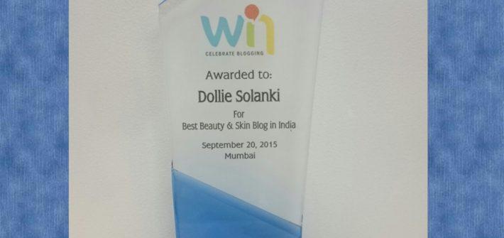 Best Indian Beauty Blog Award