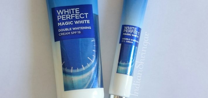 L'Oreal White Perfect Magic White Double Whitening Cream SPF 19 and Eye cream review