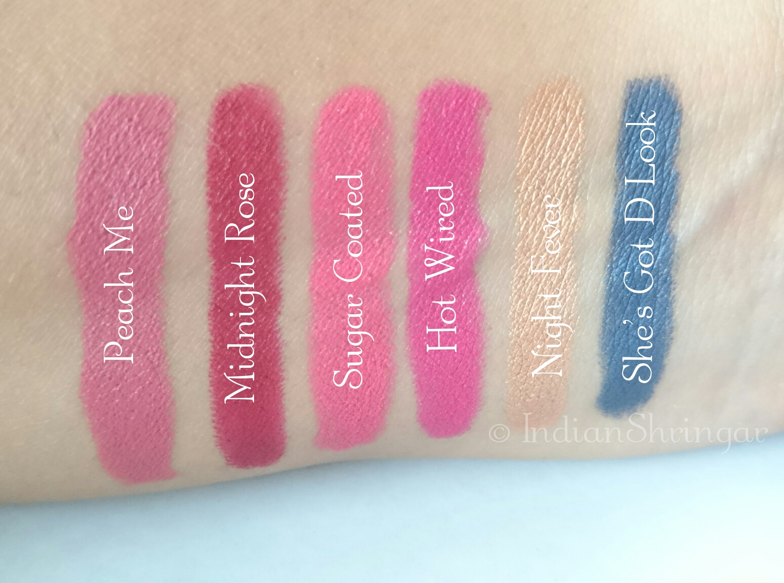 FACES Ultime Pro Lip Crayon and Eye Crayon review and swatches