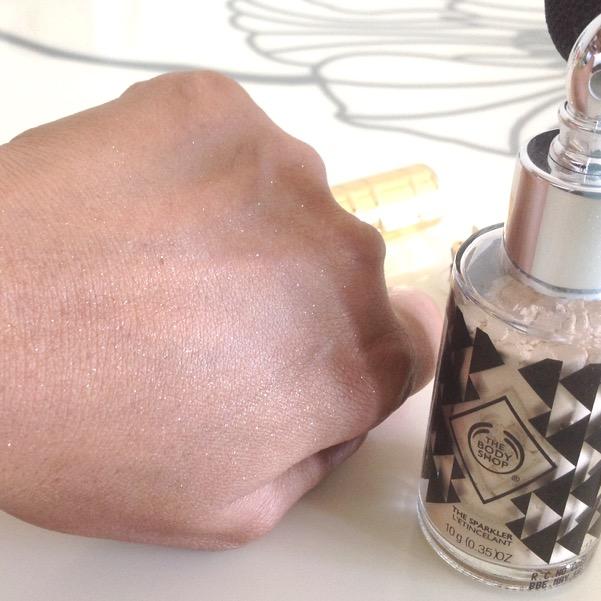 The Body Shop Sparkler Golden Glimmer review