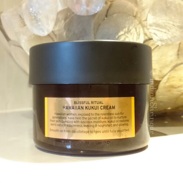 The Body Shop Hawaiin Kukui Cream Review