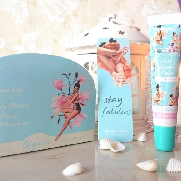 Island Kiss Cherrry Blossom Flores Lip Moisturiser review