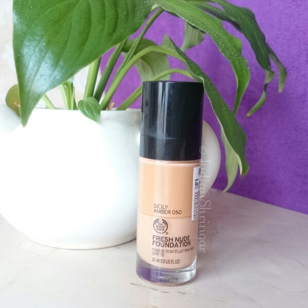 The Body Shop Fresh Nude Foundation review