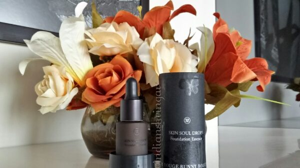 Rouge Bunny Rouge Skin Soul Drops Foundation Essence Review