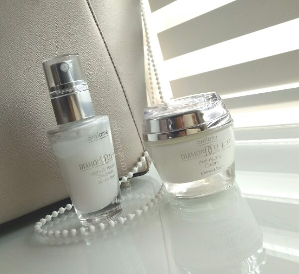 Oriflame Diamond Cellular Anti-Aging Cream and Night Restorative Treatment Review