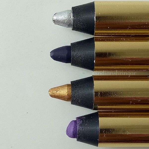 L'Oreal Silkissime Pencil Eyeliner Review and Swatches
