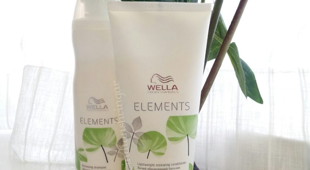 Wella Elements Shampoo and conditioner review