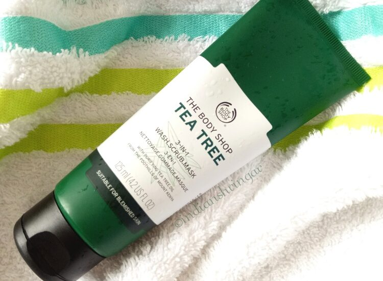 The Body Shop Tea Tree Wash, Scrub, Mask review