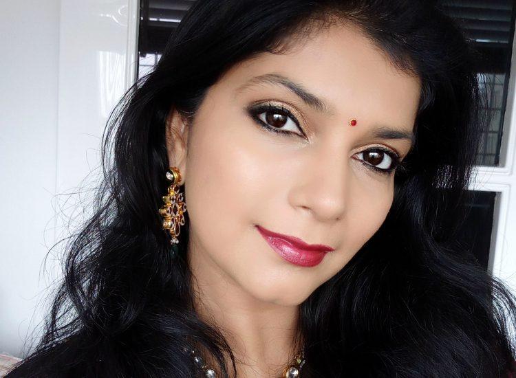 15 minute festive makeup look