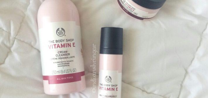 The Body Shop Vitamin E Range review