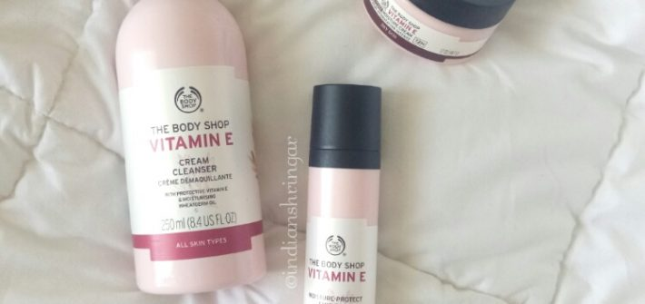 The Body Shop Vitamin E Range review
