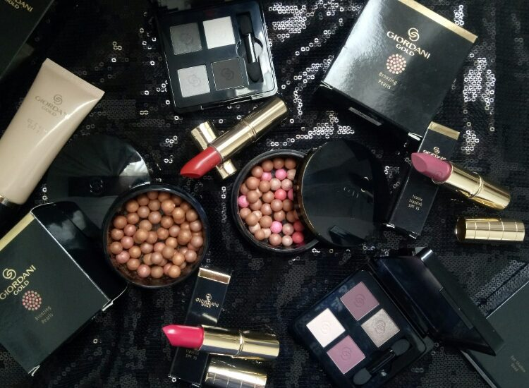 Oriflame Giordani Gold Makeup Collection