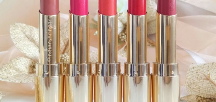 Lakme Absolute Argan Oil Lip Color Review and Swatches