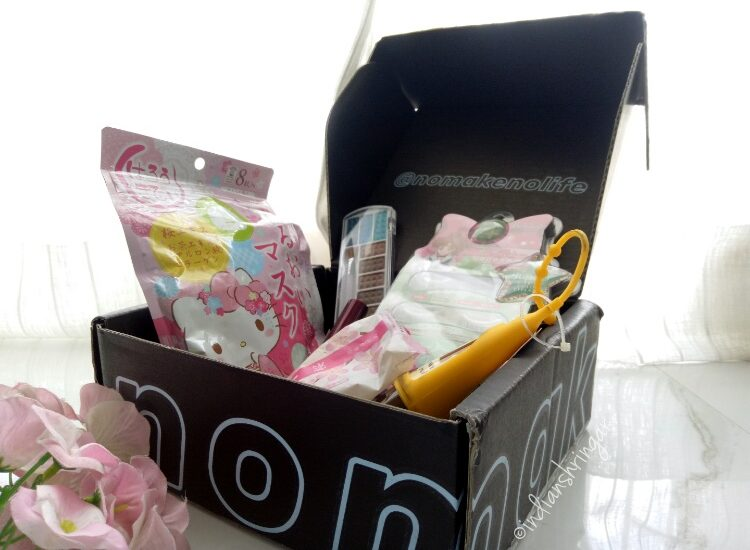 Nomakenolife (nmnl) beauty box unboxing