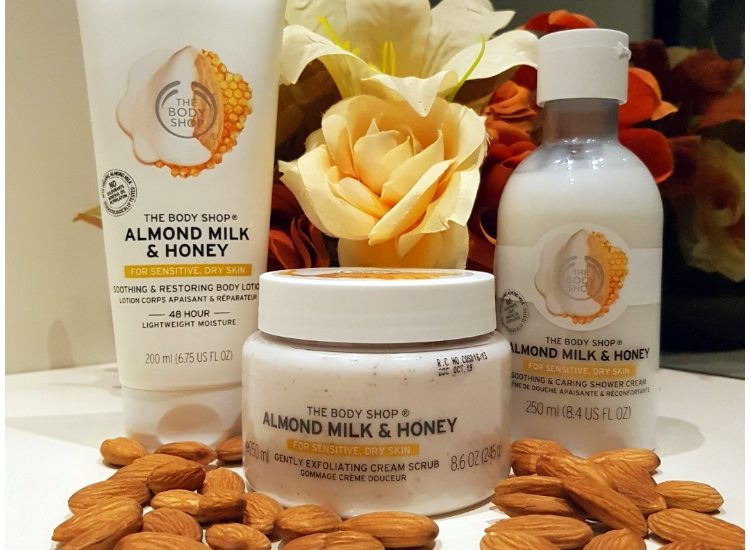The Body Shop Almond Milk and Honey range review