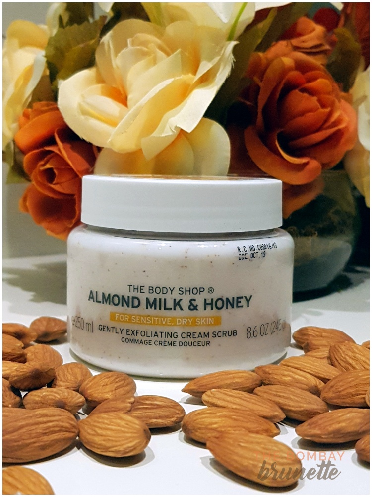 The Body Shop Almond Milk and Honey Cream Scrub review